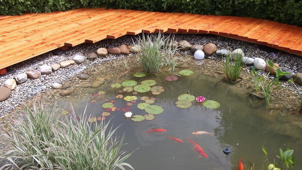 Volker Bez Sagewerk Und Hobelwerk Holzhandlung Terrasse Teich